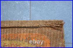 Vintage Space Age MCM Panton Carpet Rya Rug Modernist Geometric Colani Eames Era