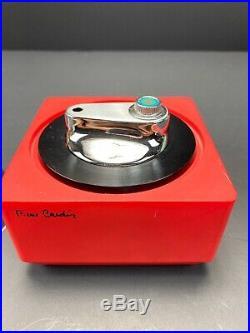 Vintage Space Age Pierre Cardin Butaine Square Lighter Mid Century Retro