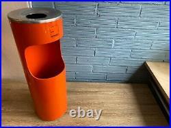 Vintage Umbrella Stand Space Age Holder Rack Ashtray Trash Kartell Style Design