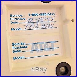 Vintage VTG Retro Mid-century Western Electric Wicker Tiki Bar Telephone RARE