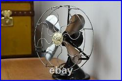 Vintage / antique art deco GEC desk fan