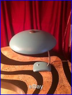 Vintage retro 40s 50s space age mid century Kalff Arteluce lamp bauhaus kaiser