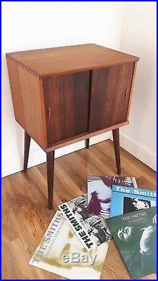 Cool Vintage Retro Mid Century Teak Vinyl Lp Record Cabinet Download Free Architecture Designs Scobabritishbridgeorg