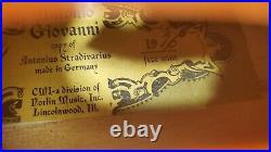 Vintage1976 Antonio Giovanni Copy Of Stradivarious (4/4) Violin. Video Is Avail