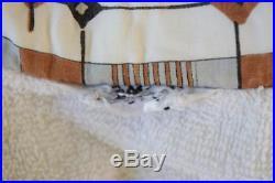 Vtg 1960's Mid Century Atomic ReTrO Beach Surfer Terry Cloth Mod Shirt M L 44