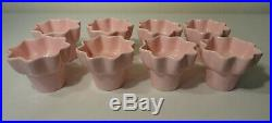 Vtg HULL Art Pottery IMPERIAL 8 FLOWER POT PLANT STAND Mid Century Retro Planter