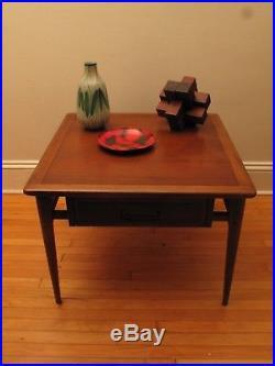 Vtg MID Century Modern Lane Walnut Coffee Table 60's Retro