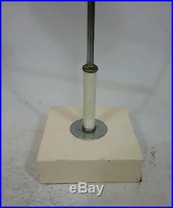 Vtg atomic Mid Century Modern Retro Desk Table Lamp Light Drafting adjustable